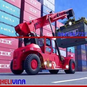 Xe nâng hàng container heli khỏe bền, chất lượng cao